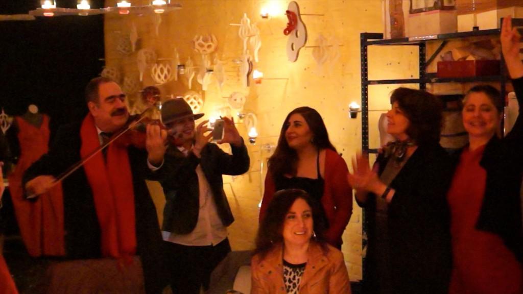 Arabic music at Alusi Ephemeral Art Berlin