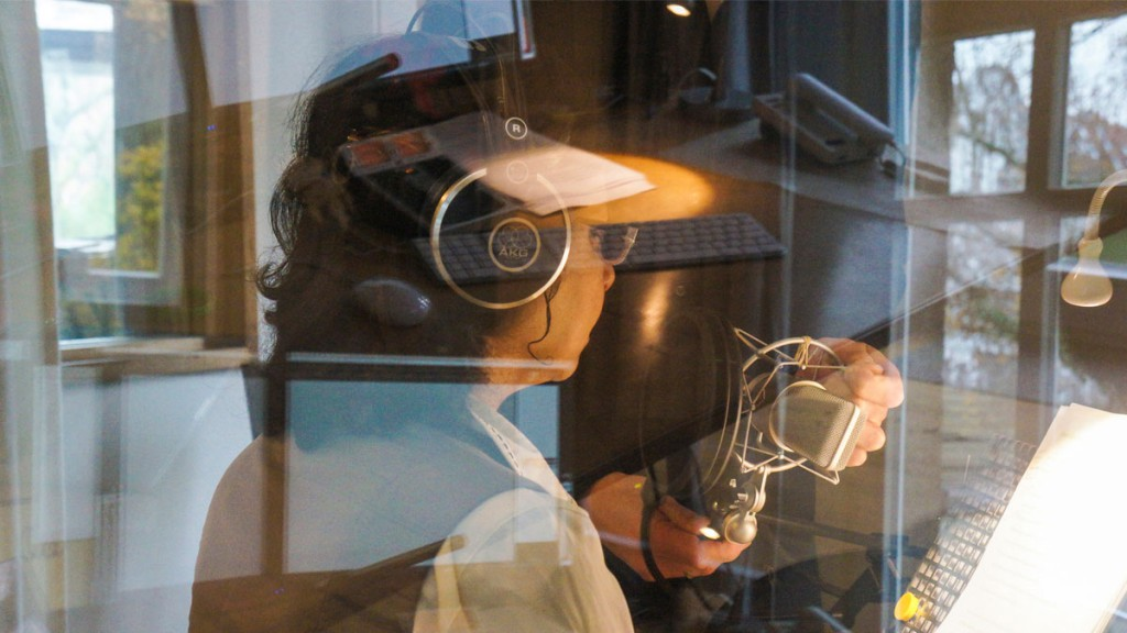 Recording of the Moments of Happiness Audiobook with Oliver Brod