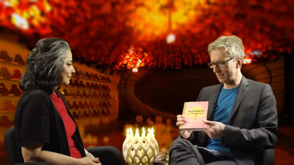 Webinar zu Moments of Happiness Maha Alusi und Günter Keil