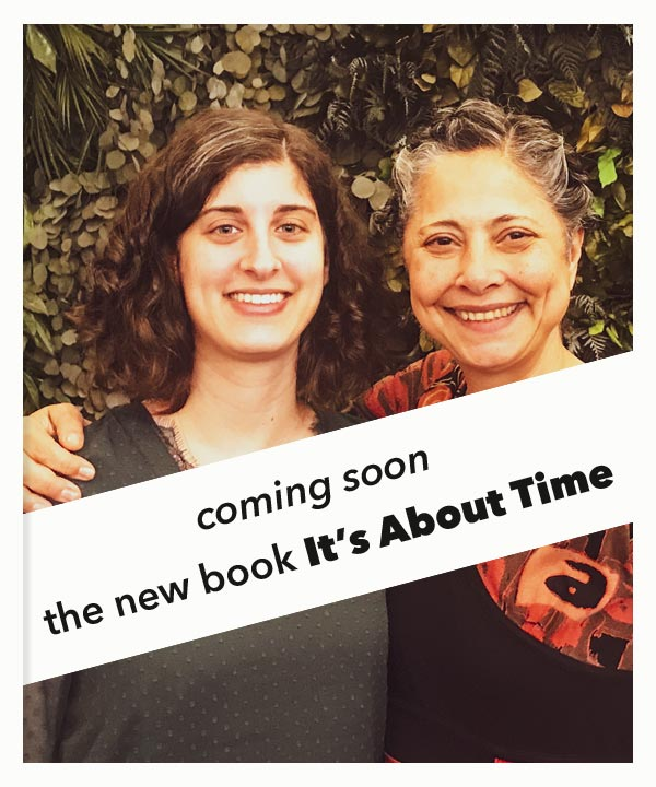 Coming soon, the new book It's About Time by Maha Alusi and Yasmine Genena